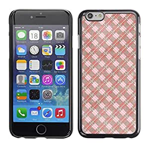 MOBMART Carcasa Funda Case Cover Armor Shell PARA Apple iPhone 6 PLUS / 6S PLUS 5.5 - The Pink Checkered Mix