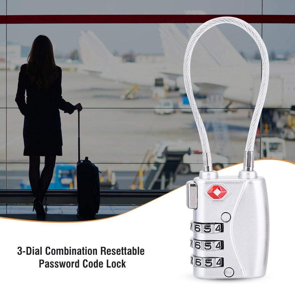Bnineteenteam Serrures de Voyage approuv/ées par la TSA Valise et Bagages Cadenas /à Combinaison /à 3 Chiffres pour Sac de Voyage
