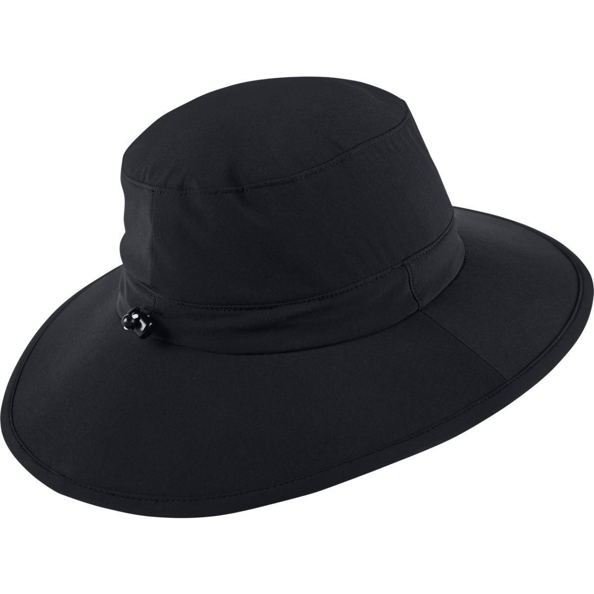72d3e104feede Nike Golf Sun Protect Bucket Hat (Black White