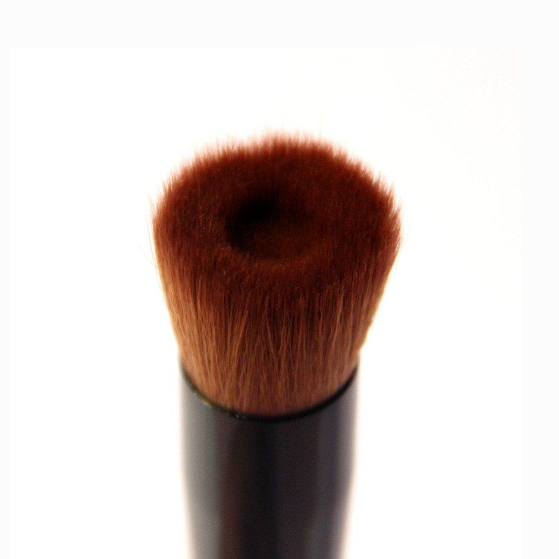 kabuki brush for liquid foundation. value makers makeup foundation powder brush - professional make up cosmetics tools liquid face blush contour kabuki for w
