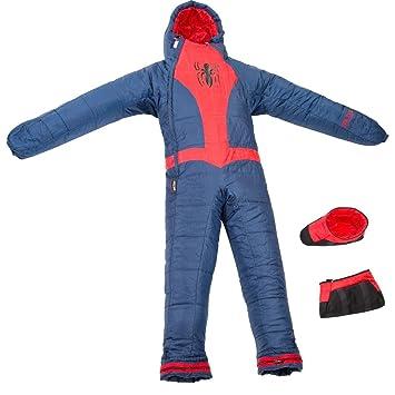 SELKBAG Saco de dormir Modelo KIDS SPIDER MAN,Talla XS