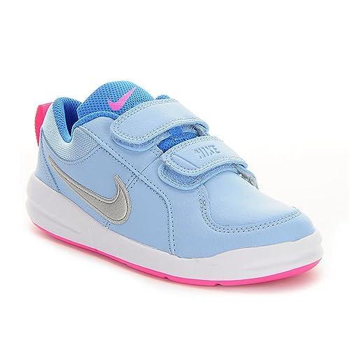Nike Unisex Baby Pico 4 (PSV) Sneakers, Azul (Bluecap/Metallic Silver-White-Photo Blue), 27.5 EU