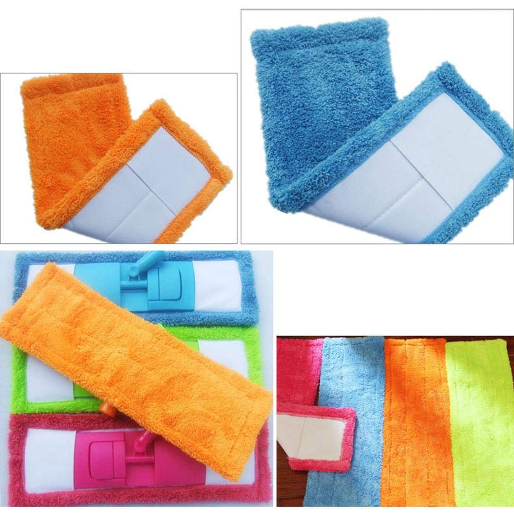 Flat Mop Heads Washable Replacement Pads for Flat Mop Cleaning Mop Cloth