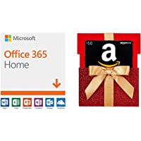 Microsoft Office 365 Home for 1 Year up to 6 People + $50 GC