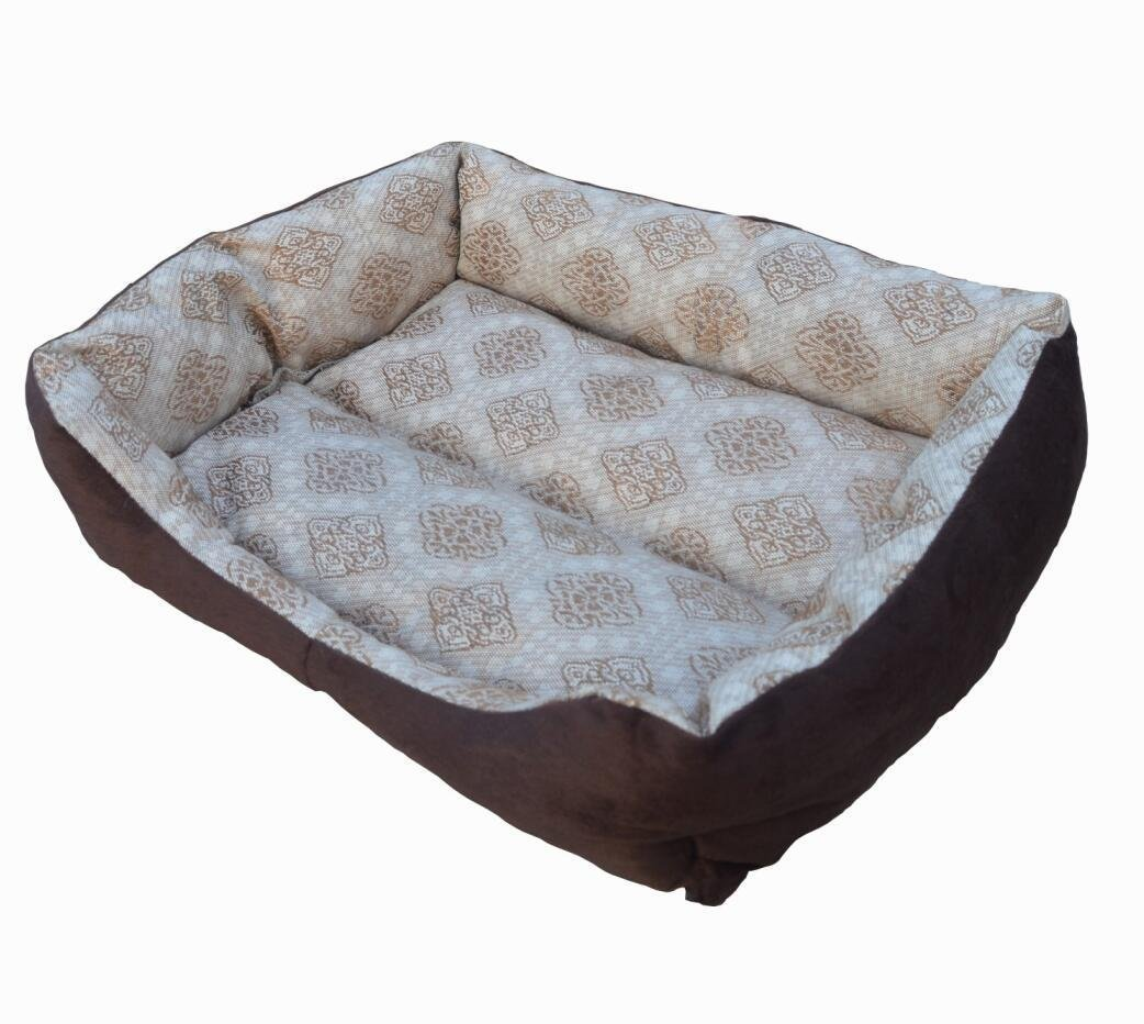 KTROMAN Dog CAT Bed, Dog Beds Dogs Kennels Waterproof Dogs Bed Fit Medium Sized Dog Cat Anti-bite soft Bed Kennels (M) 70 x 50 x 14cm