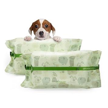 PUPMATE Toallitas para Mascotas para Perros y Gatos, Extra Húmedas y Gruesas toallitas para Cachorro