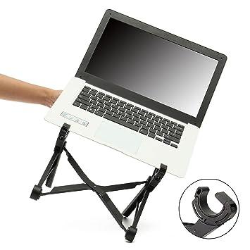 Zepthus® Portátil Soporte para portátil Plegable Soporte Ajustable de portátil Ojos ergonómico Ligero Compacto Universal Fit para PC MacBook Ordenador Free ...