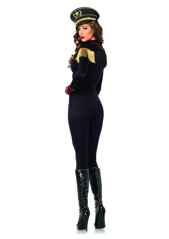 Amazon.com Leg Avenue Womenu0027s Military Catsuit Costume Black Large Clothing  sc 1 st  Amazon.com & Amazon.com: Leg Avenue Womenu0027s Military Catsuit Costume Black ...