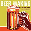 2018 Beer Making Wall Calendar