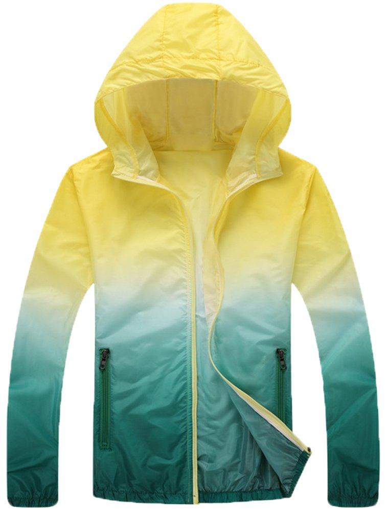 Mochoose Women's Super Lightweight Outdoor Hoodie Packable Jacket Quick Dry Windbreaker Breathable UV Protect Skin Coat