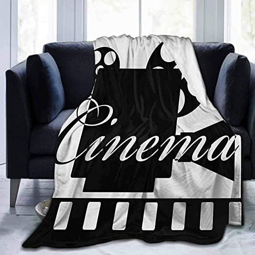 New Cinema Style Movie Blanket Designs VARIOUS Home Theater Throw Blankets