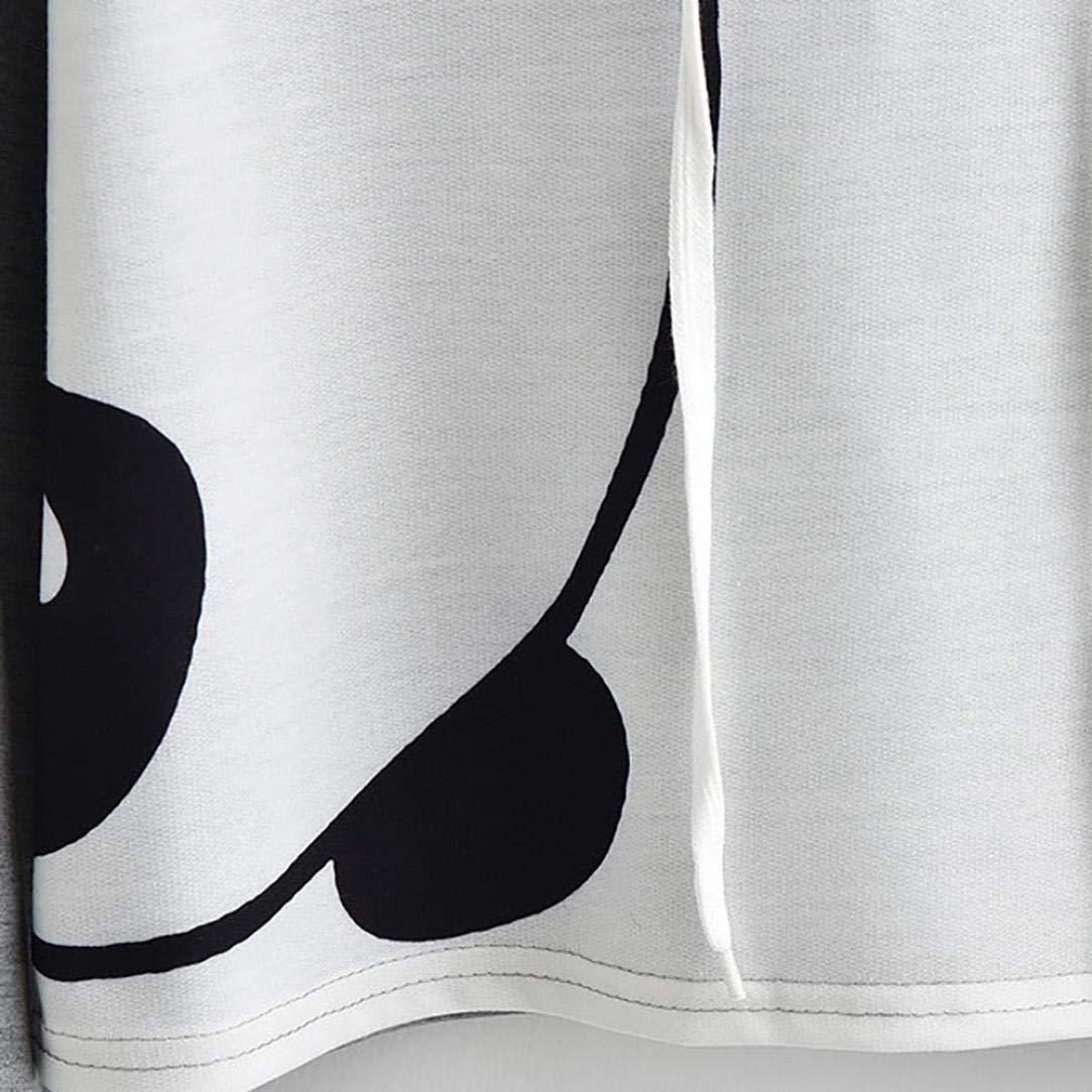Covermason Femme Fille Sweatshirt Pull Sweatshirt Sweat /à Capuche Pull Tops Blouse Imprim/é Animal /à Manches Longues Chemise Sweatshirt Tops