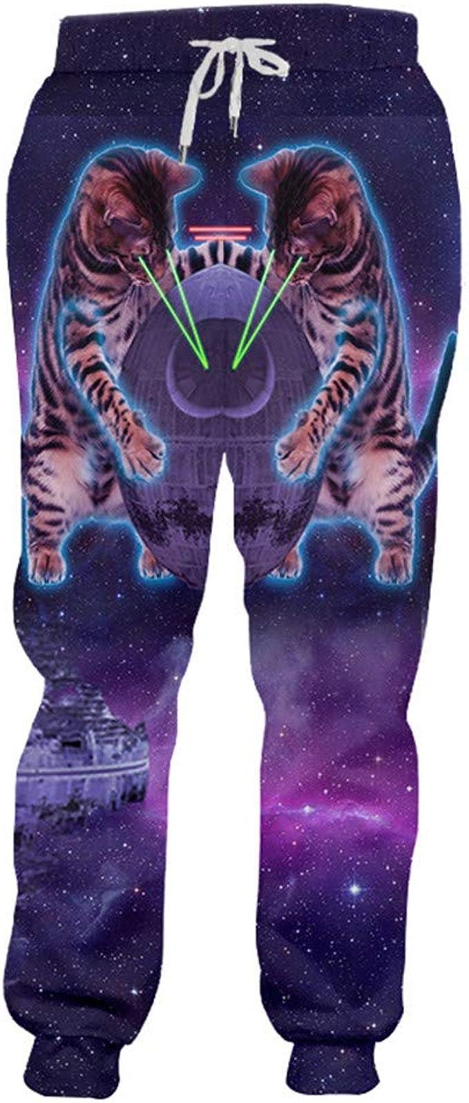 Hip Hop - Pantalones de chándal para Hombre, diseño de Galaxia ...