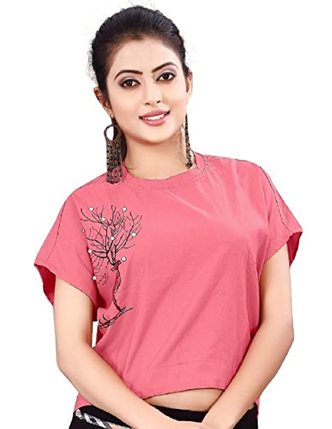 5b78dd17ee LooksGud Tops for Women Under 500 Girls Western wear 2019 Ladies ...