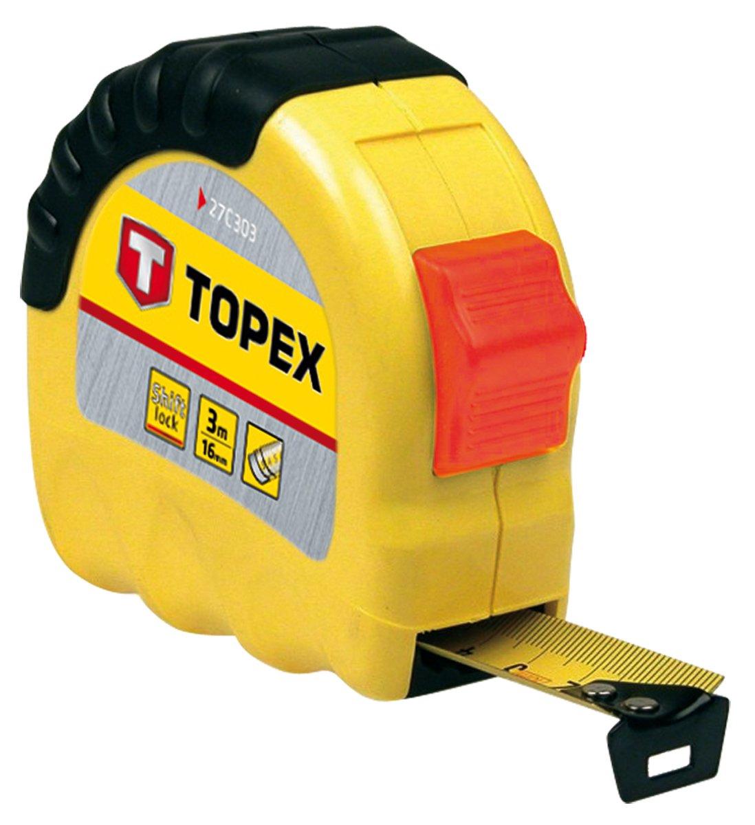 Topex Stahlrollbandma/ß 8 m x 25 mm 27C308