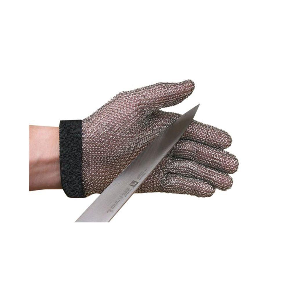 San Jamar MGA515M Steel Mesh 5 Finger Cut-Resistant Gloves, Medium by San Jamar B005VF03JC