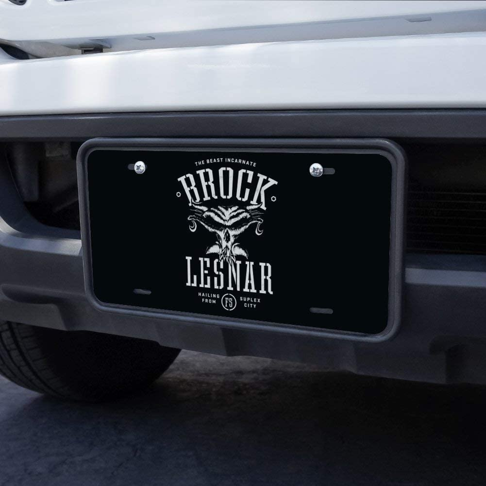 Graphics and More WWE Brock Lesnar Legion Novelty Metal Vanity Tag License Plate