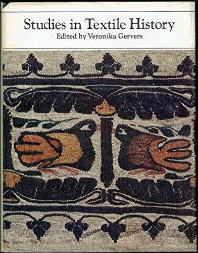 Studies in Textile History: In Memory of Harold B. Burnham
