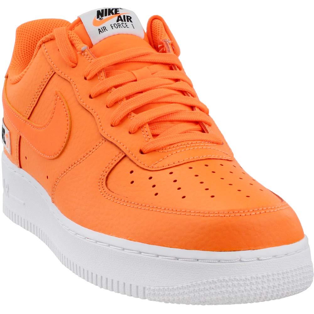 newest 0d798 e2430 Nike Men s Air Force 1  07 Lv8 JDI Leather Gymnastics Shoes, Total  Orange White Black 800, 11 UK  Amazon.co.uk  Shoes   Bags