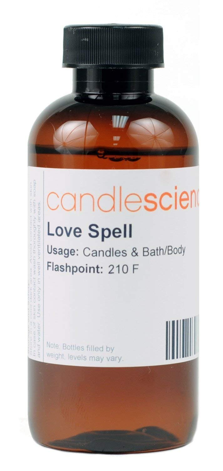 CandleScience - Love Spell - Fruit and Floral Candle Scent - Great for Candle Making (8 oz)