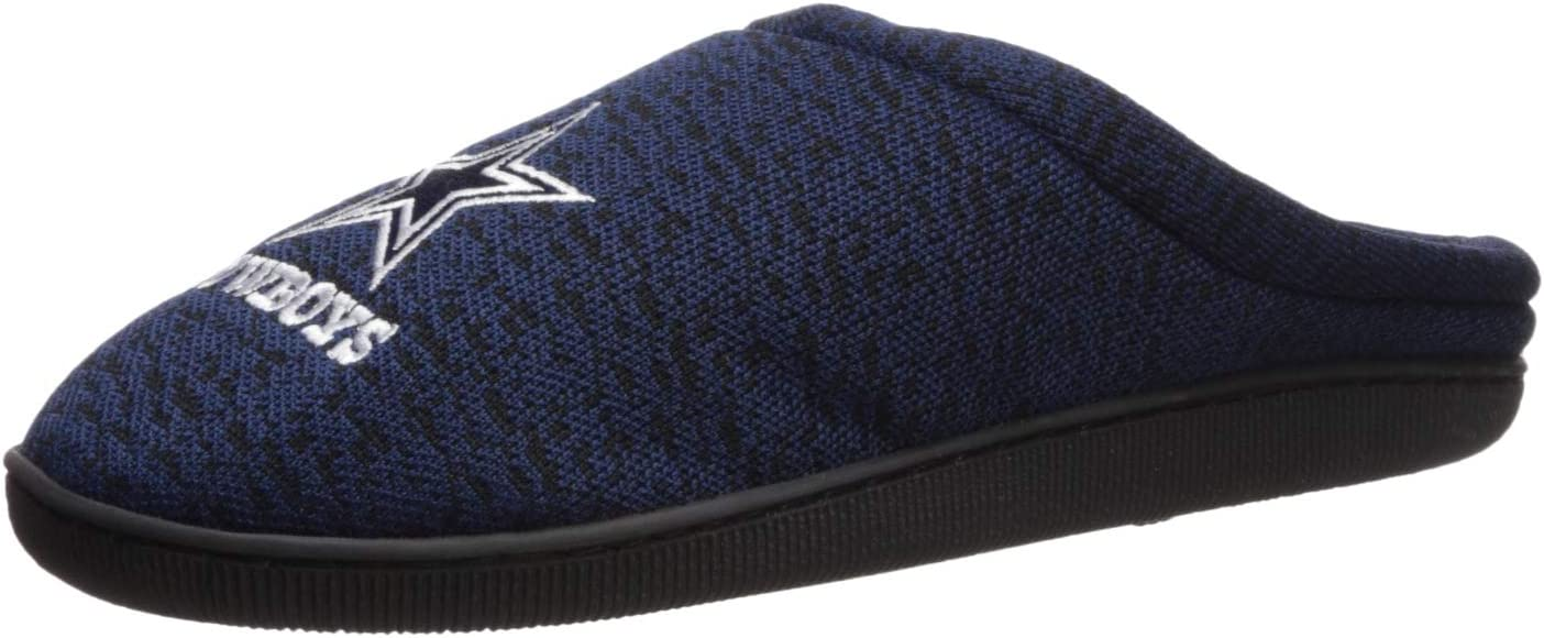 FOCO Poly Knit Cup Sole Slipper Denver Broncos Poly Knit Cup Sole Slipper