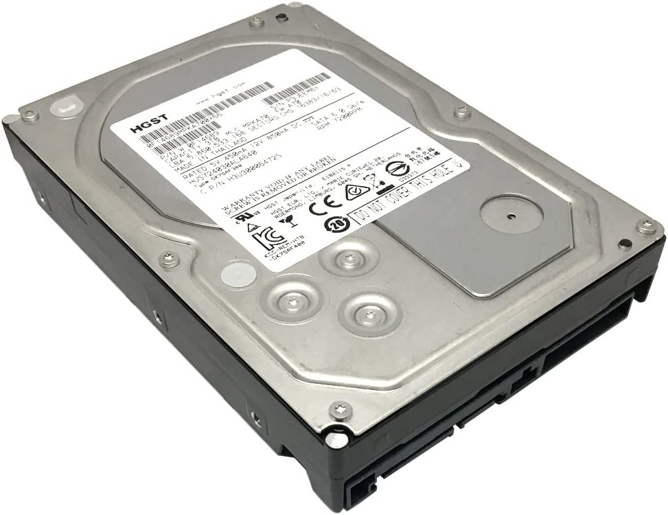 "HGST Ultrastar 7K4000 HUS724030ALA640 (0F14689) 3TB 7200 RPM 64MB Cache SATA 6.0Gb/s 3.5"" Internal Hard Drive (Enterprise Grade) - OEM w/5 Year Warranty"