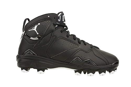 san francisco 27fa5 27154 Nike Mens Air Jordan 7 Retro MCS Baseball Cleats Black White 684942-010  Size 9  Amazon.ca  Shoes   Handbags