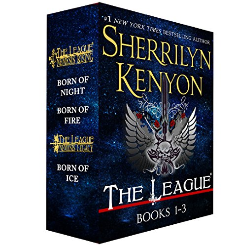 The League: Nemesis Rising, Books 1-3: Born of Night, Born of Fire, Born of Ice by [Kenyon, Sherrilyn]
