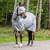 Horze Horse Pony Cob Spirit La Pampa Fly Full Body Sheet Hood Face Mask (US 78''/EU 145)
