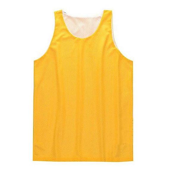 TopTie Camiseta sin mangas Hombres Tanque de malla reversible ...