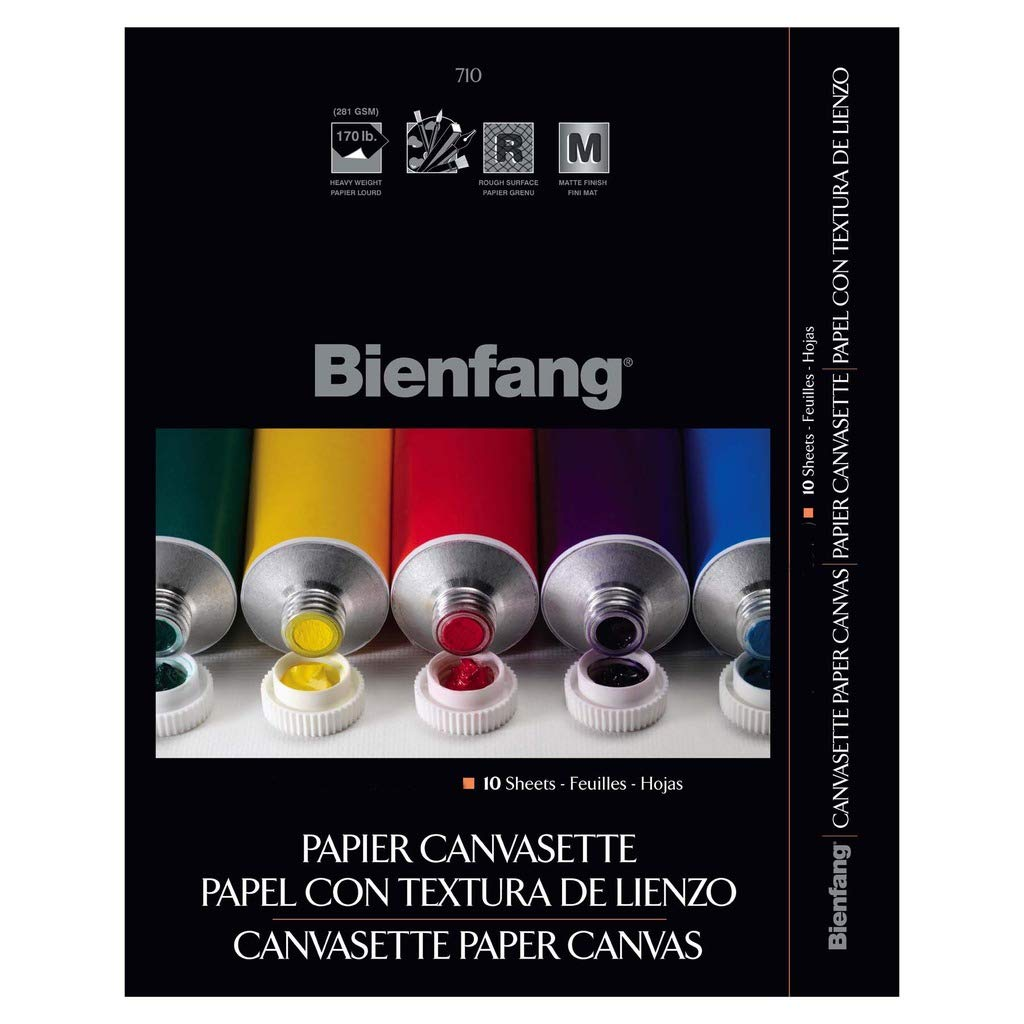 Bienfang Canvasette Pad, 16 x 20 in, 10 Sheets