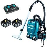 マキタ 充電式背負いクリーナーVC260DZ 6.0Ahバッテリー2個&充電器付フルセット(アクセサリ収納バッグ付)