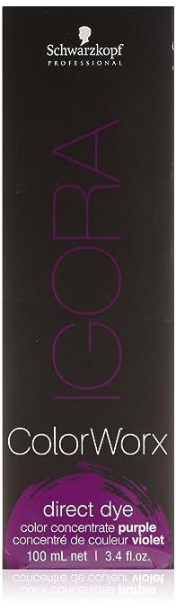 e9f3ae8e47 Schwarzkopf IGORA ColorWorx Direct Dye (Color Concentrate Purple)