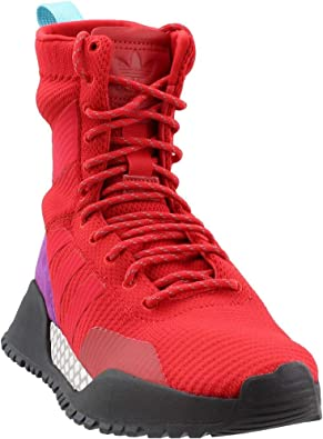 adidas Men's Originals AF 1.3 PK Primeknit Boot RedPurple