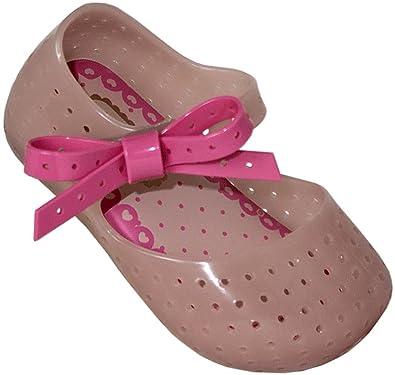 15d0da4488bc Mini Melissa Baby Girl s Mini Furadinha X (Toddler Little Kid) Light Pink  Mattte