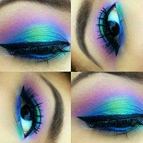 """(Colorful Eyeshadow Palette 