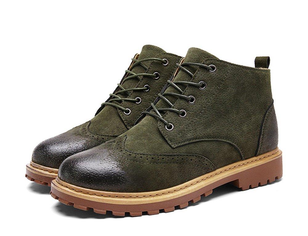 MHB Men's Groveton Leather Fabric Boot 8in Green