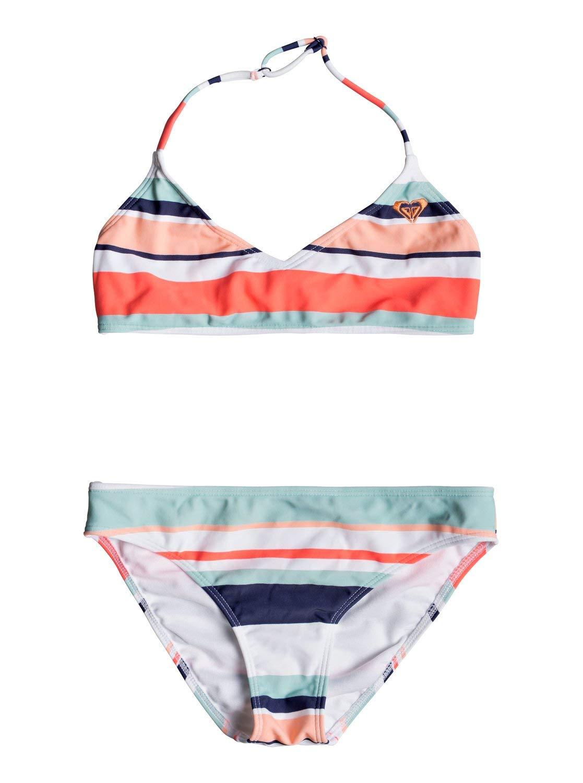 Roxy Happy Spring Ensemble de Bikini Triangle Fille