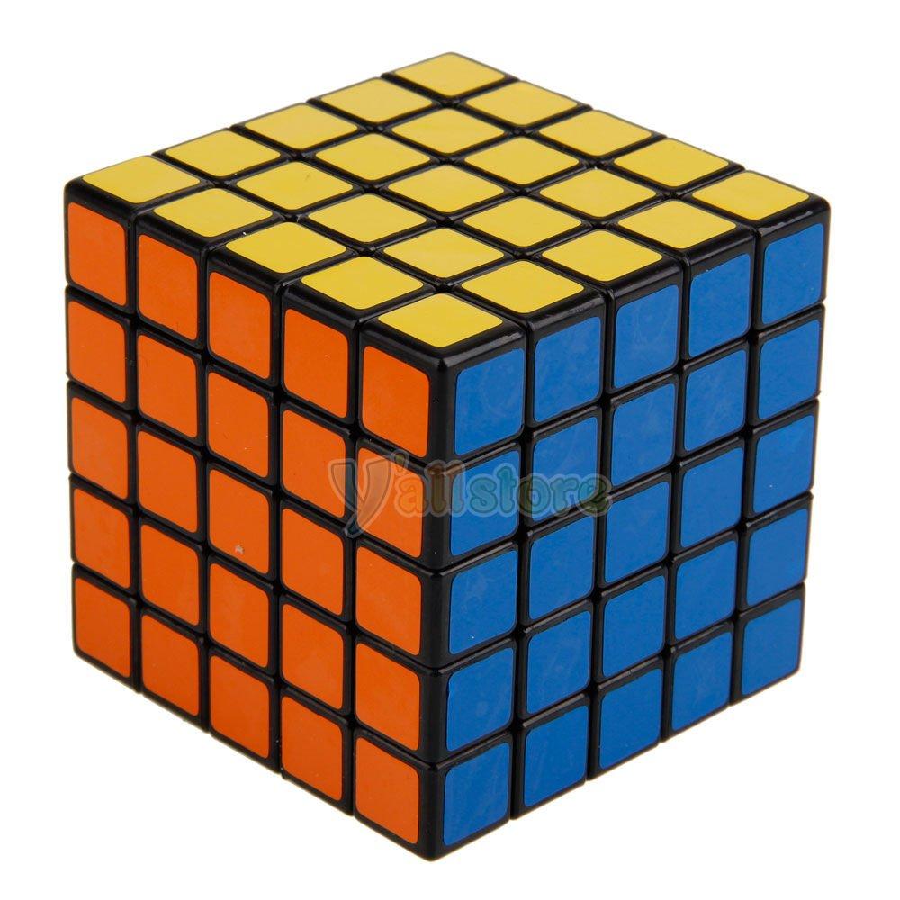 Amazon.com: New Shengshou 5x5x5 Speed Ultra-smooth Magic Cube Puzzle Twist  5x5 Black: Toys & Games