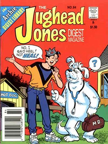 Jughead Jones Digest Magazine, The #84 VF ; Archie comic book (Jughead Jones)