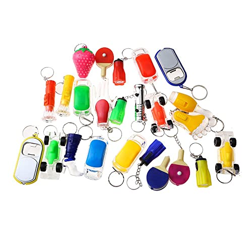 Beyond Dreams 13 Pieces LED Keyring Bag Accessory For Children