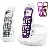 Sagemcom D271 DUO Téléphone sans fil non ISDN avec 2 combinés Blanc