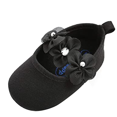 16c1f3a3a233d Amazon.com  Newborn Infant Toddler Girls Walking Shoes for 0-18 ...
