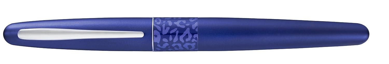 anello centrale con motivo leopardato Pilot MR2 Penna stilografica colore: Blu