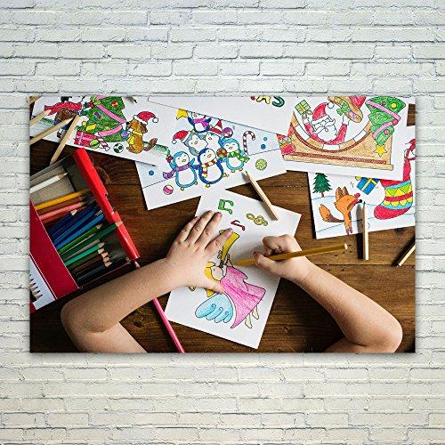Westlake Art Poster Print Wall Art - Child Pencil - Modern P
