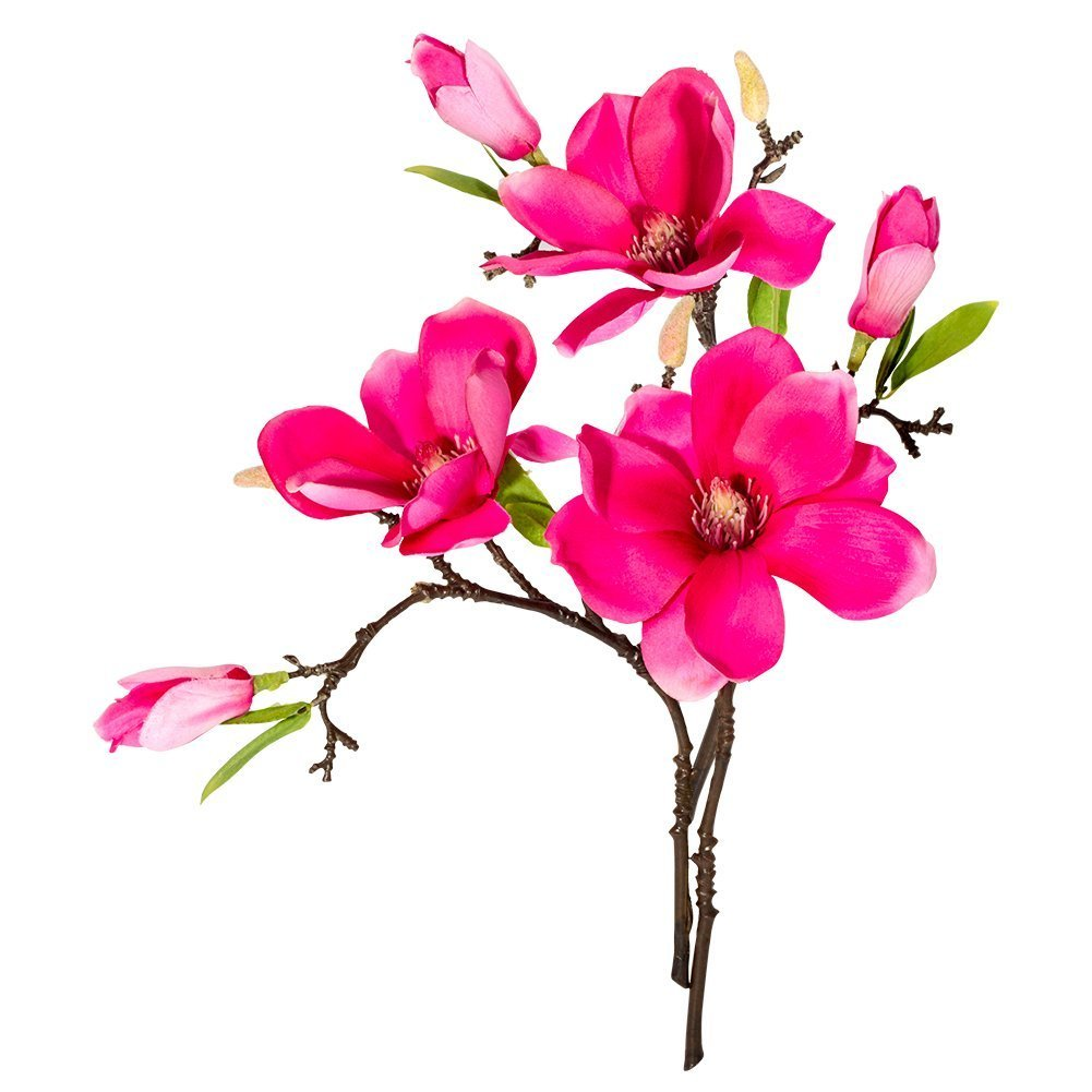 Amazon Magnolia 3pcs Artificial Fake Silk Flowers Leaf Magnolia