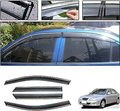 Fit For Hyundai Sonata 2011-2016 Rain//Sun//Wind Guard Window Visors Vent Shade US