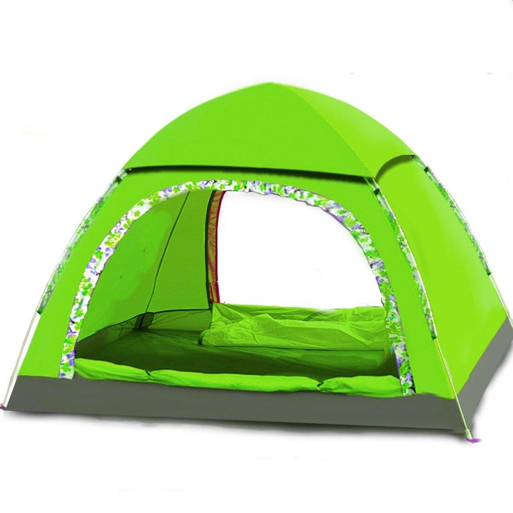 Deng Zelt automatische Outdoor 3-4 Personen Familie Strand Wild Camping Zelt Set