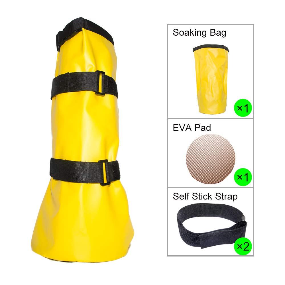 Less Side Horse Hoof Soaking Bag
