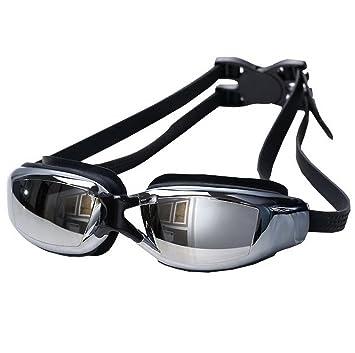 eb7e7f9d15a263 AooPoo Lunettes de Natation Myopie Adulte Lunettes de Piscine Homme Femme  Correctrices Antibuée Étanche Swimming Goggles